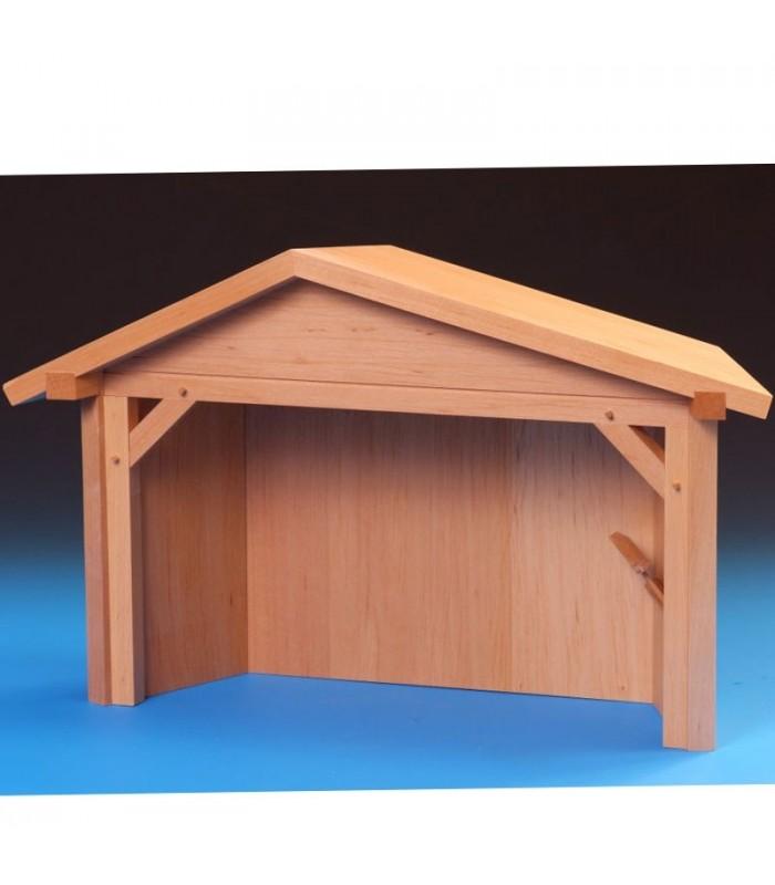 Grande table de bethl em pour compl ter une cr che de no l en bois - Fabriquer une creche de noel en bois ...