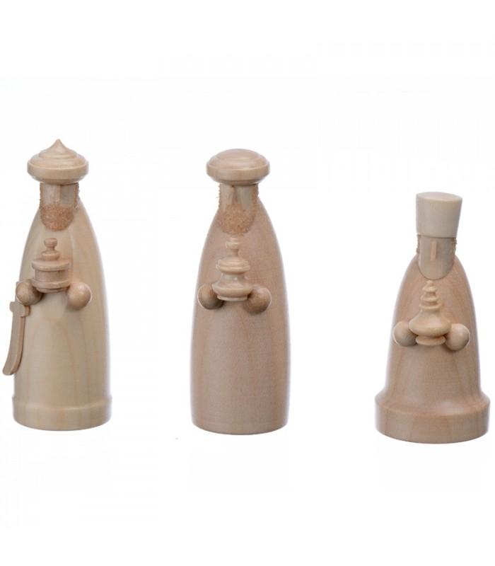 les trois rois mages personnages principaux en bois pour. Black Bedroom Furniture Sets. Home Design Ideas