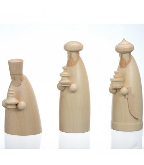 les 3 rois mages personnages principaux en bois pour une cr che de no l. Black Bedroom Furniture Sets. Home Design Ideas