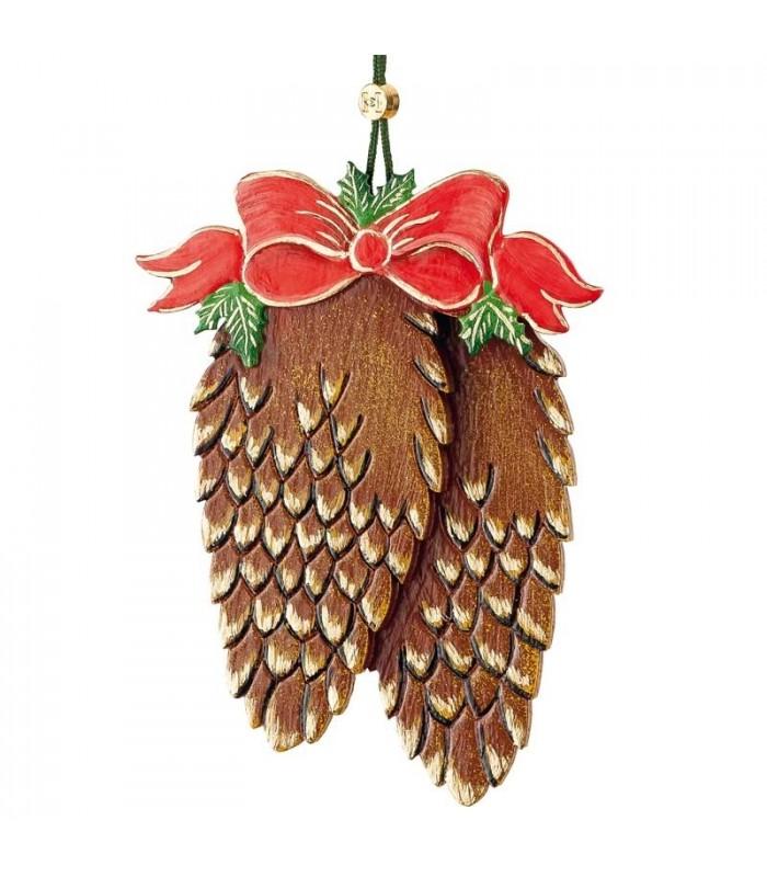 D corations suspendre au sapin pommes de pin for Decoration a suspendre