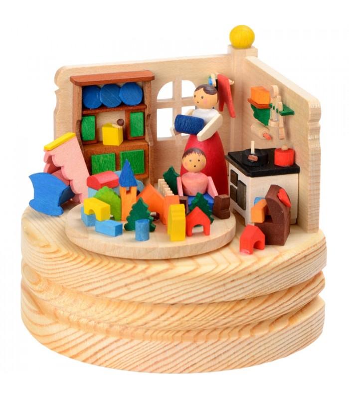 boite musique enfant jouant dans la cuisine. Black Bedroom Furniture Sets. Home Design Ideas
