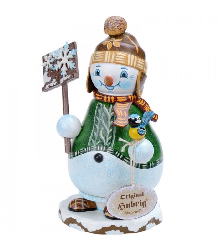 Personnage fumeur bonhomme de neige avec pancarte - Modele bonhomme de neige ...