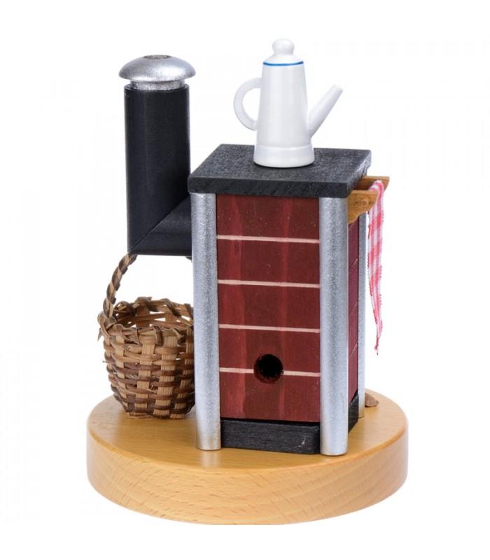 bonhomme fumeur brule parfum po le bois. Black Bedroom Furniture Sets. Home Design Ideas
