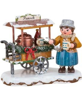 Winterkinder vendeuse de vin chaud