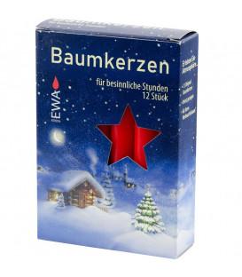 Bougies pour sapin de Noël, Baumkerzen 15 mm