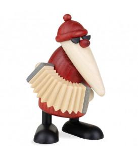 Figurine père Noël accordéoniste