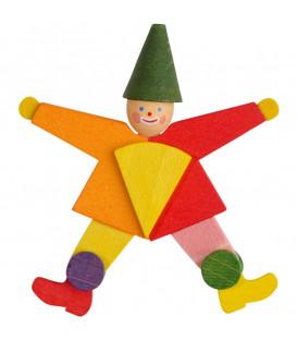 Déco Noël enfant, clown