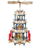 Weihnachtspyramid allemangne 3 étages