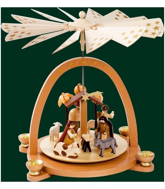 Pyramide de Noel Allemande arche grand modèle, 40 cm