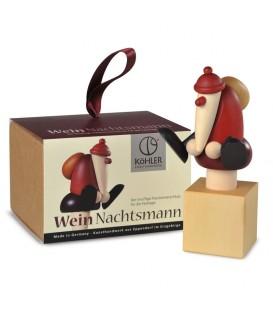 Bouchon pour vin rouge, père Noël