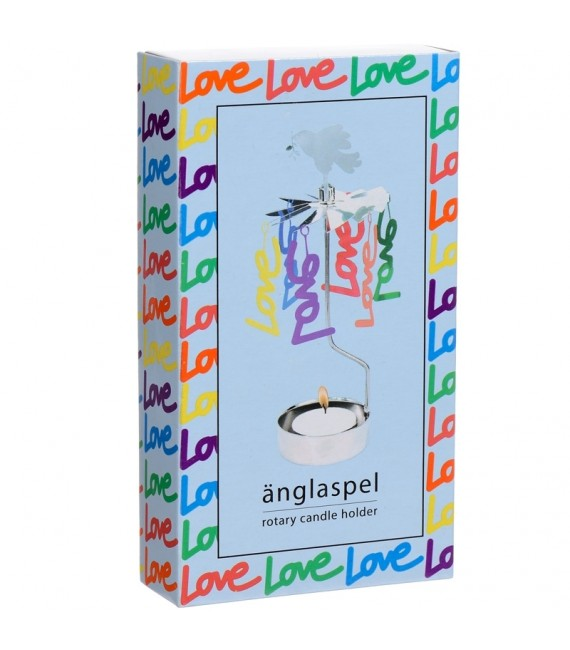 bougeoir photophore Love