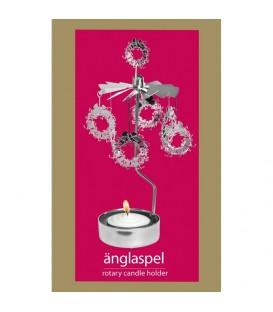 Caroussel bougie couronne de Noël