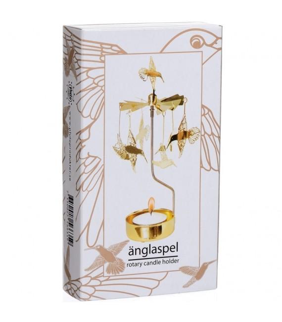 Bougeoir carrousel colibri