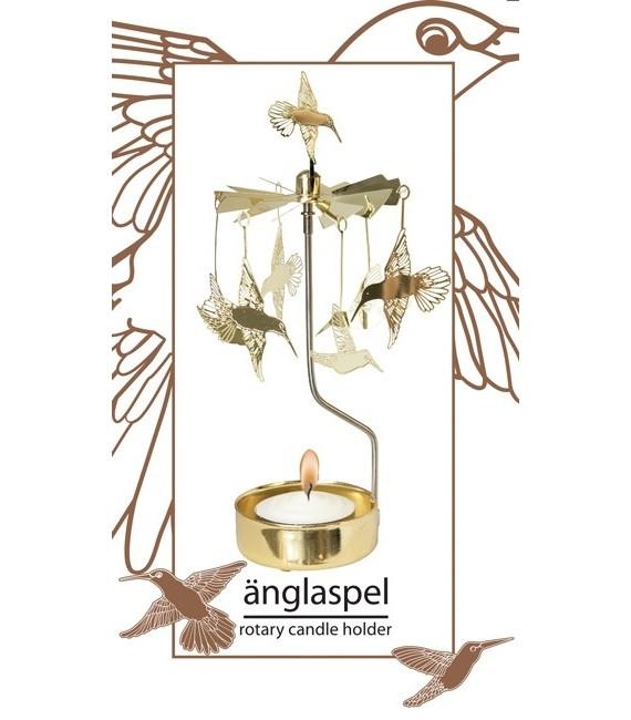 Bougeoir de table colibri