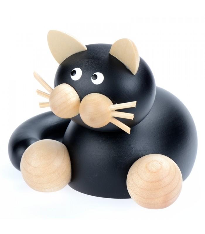 chat decoration statuettes en bois chats noirs d 233 coratifs