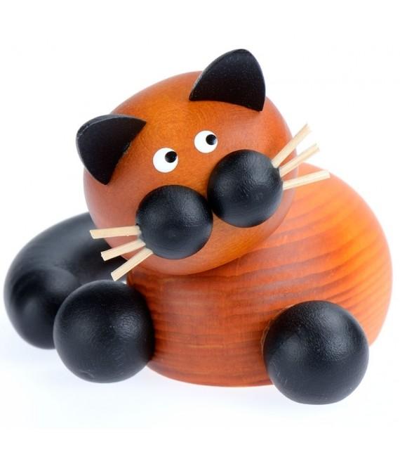 Petits chats décoratifs en bois