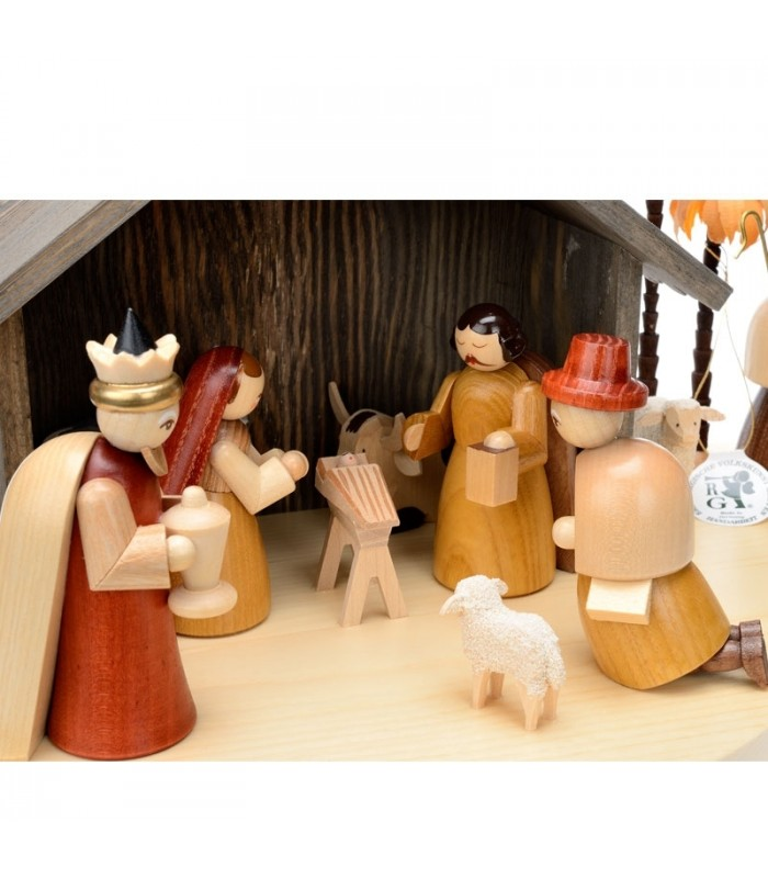 Crèches Markus crèches figurines Garçon avec du bois pour Taille environ 6-7 cm