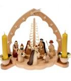 Boutique de vente de crèches de Noël
