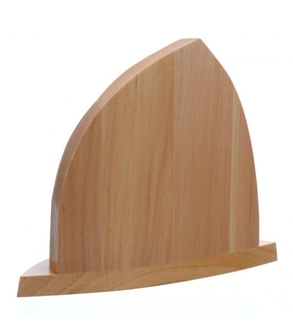 Petite crèche de Noël en bois avec personnages