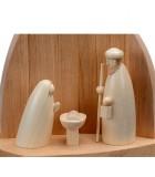 Figurine en bois pour creche de noel