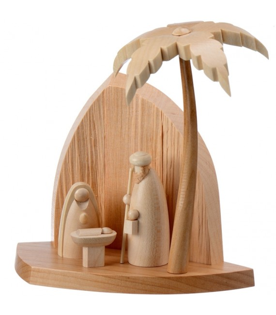 Boutique vente crèche de noel en bois