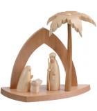 Boutique vente de crèche en bois