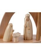 Acheter figurines en bois pour une creche de Noël