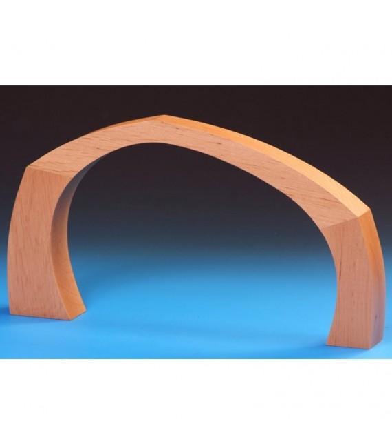 Arche en bois pour plateau crèche de Noël