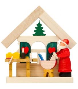 Déco sapin de Noel, fabrication d'un cheval de bois