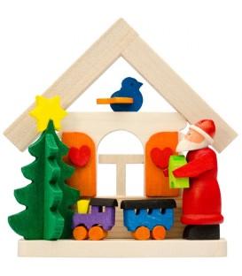 Déco sapin de Noel, fabrication d'un petit train