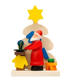 Déco sapin de Noel, atelier du père Noel
