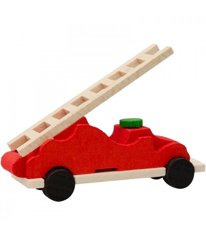 D co no l enfant voiture de pompiers rouge - Deco chambre enfant voiture ...