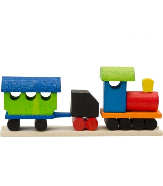 Déco Noël enfant, petit train en bois