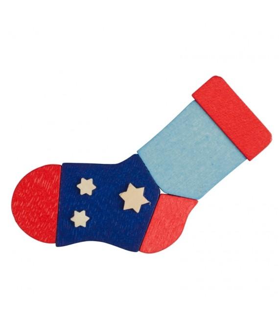 Déco Noël enfant, chaussette de Noël