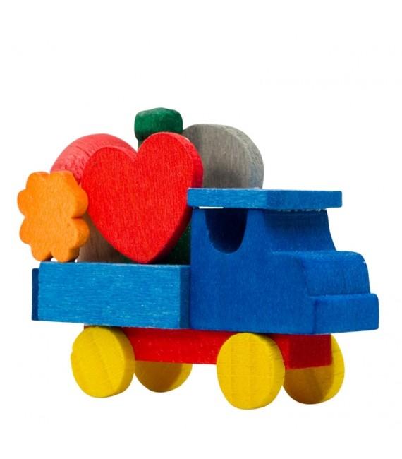 d co no l enfant camion de jouets en bois peint. Black Bedroom Furniture Sets. Home Design Ideas