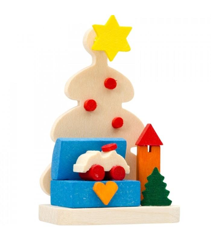 d coration de noel sapin jouets en bois malle aux jouets. Black Bedroom Furniture Sets. Home Design Ideas