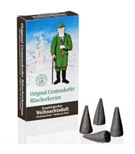 Cone d'encens senteur Noël du Erzgebirge