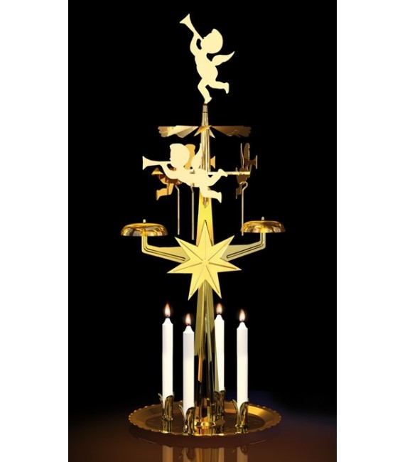 Carillon des anges doré