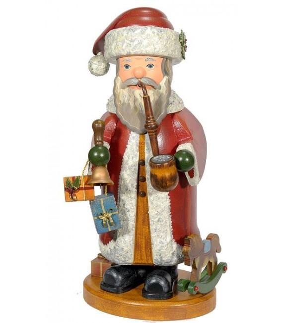 Personnage brûle-encens grand Père Noël
