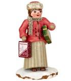 Village de Noël miniature, figurine achats de Noel