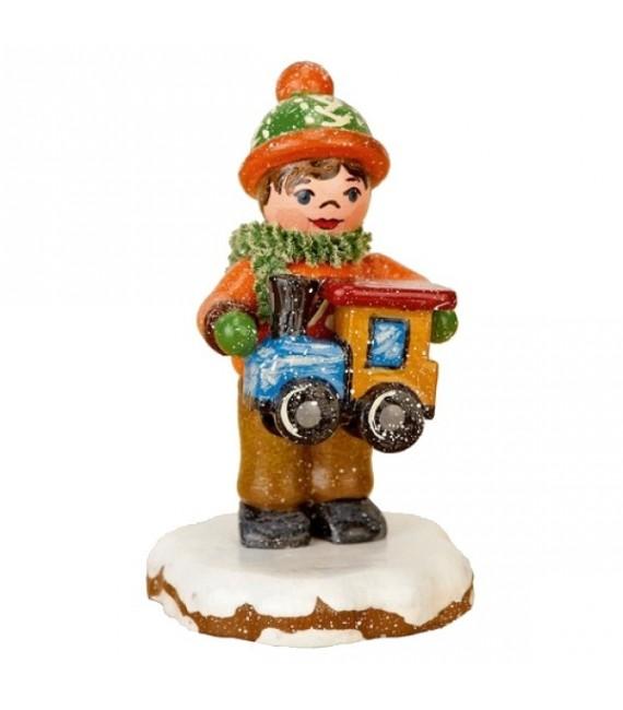 Village de Noël miniature, figurine Enfant et jouet