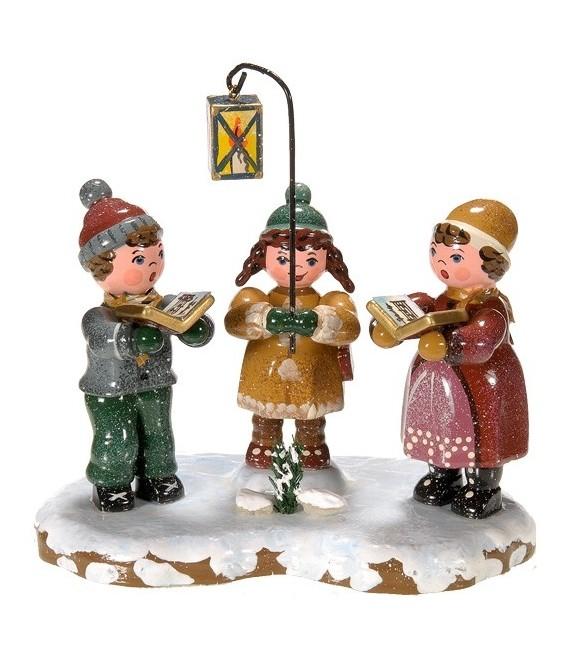Décoration de Noël enfant, figurine, chorale enfants