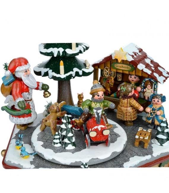 Boite à musique chant de Noel allemand