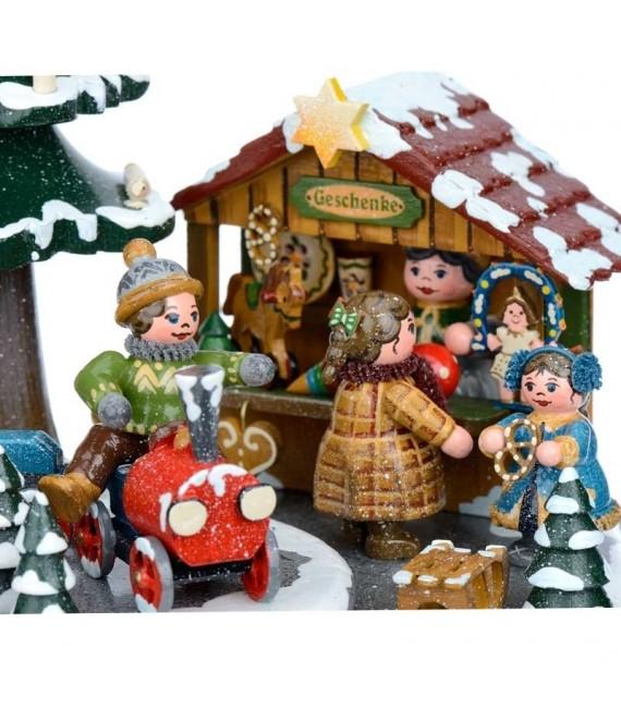 Boite à musique chants allemands de Noel