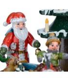Boite à musique pour enfant, jour de Noël autour du sapin