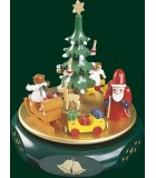Boite à musique allemande Stille Nacht, veillée de Noël