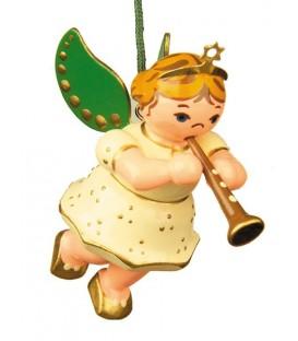 Déco sapin de Noël, ange et clarinette