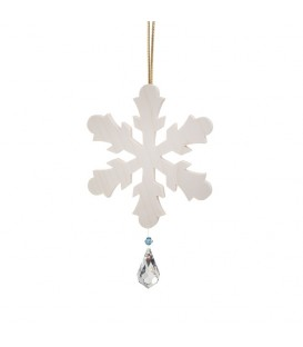 Flocon de neige à suspendre avec cristal Swarovski n° 1