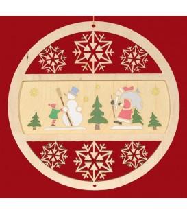Décoration chambre d'enfant, père Noël a suspendre