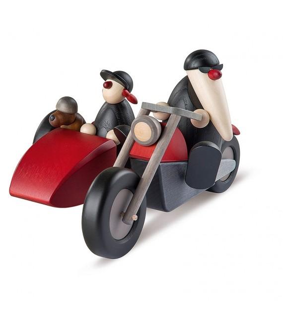 Père Noel en side-car 2016